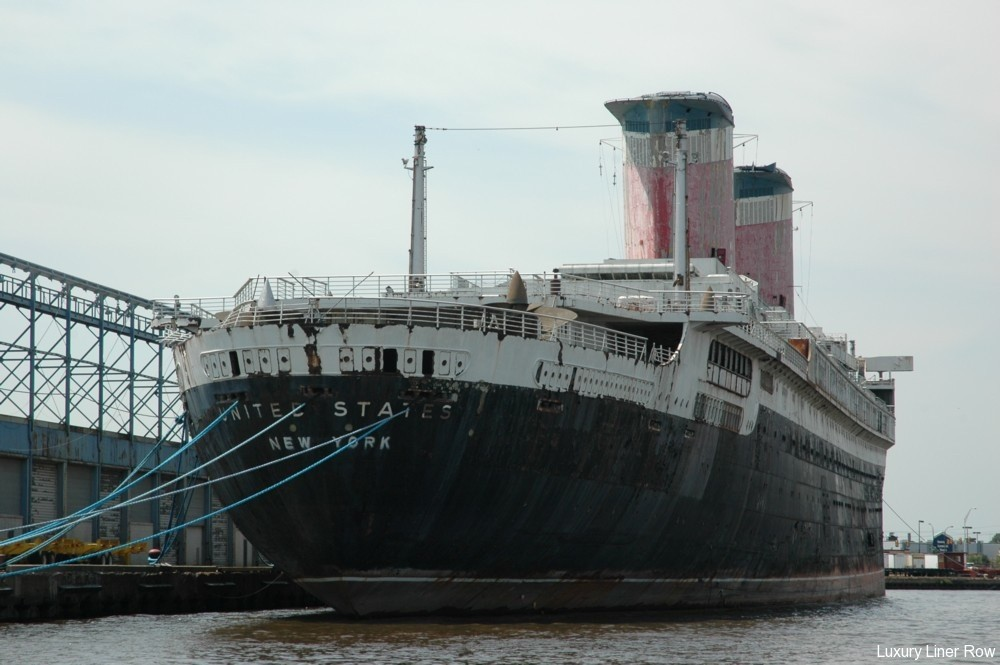 Cruise To The Ss United States / USS Olympia - Luxury Liner Row