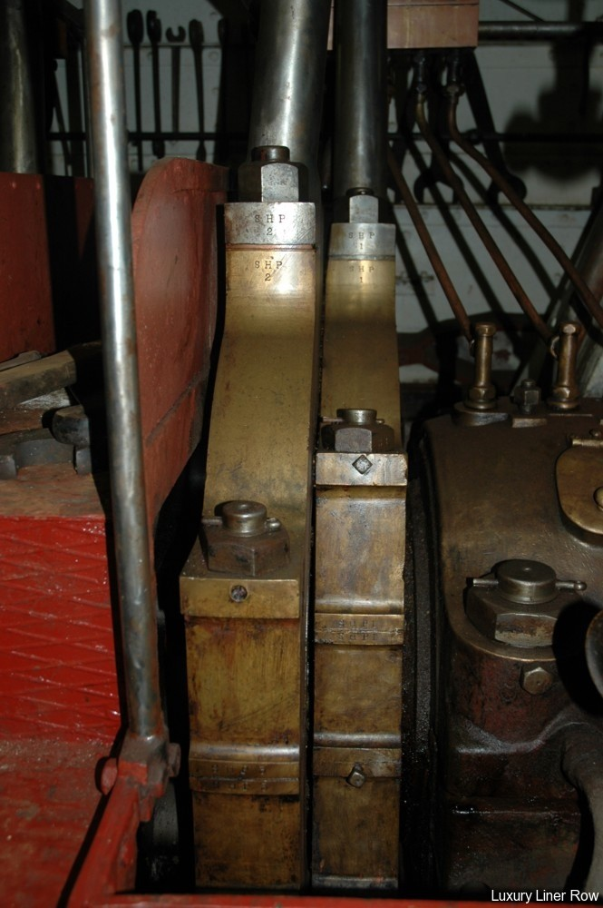 Cruise Ship Engine Room: Cruise To The Ss United States / USS Olympia