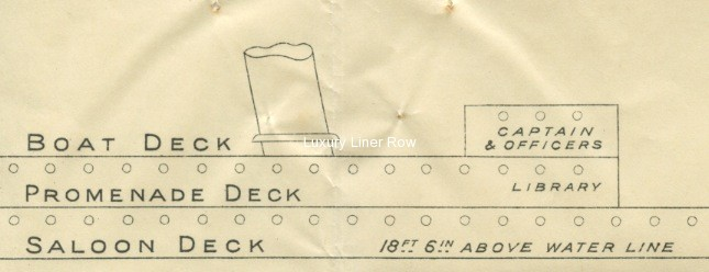 ss carpathia deck plan