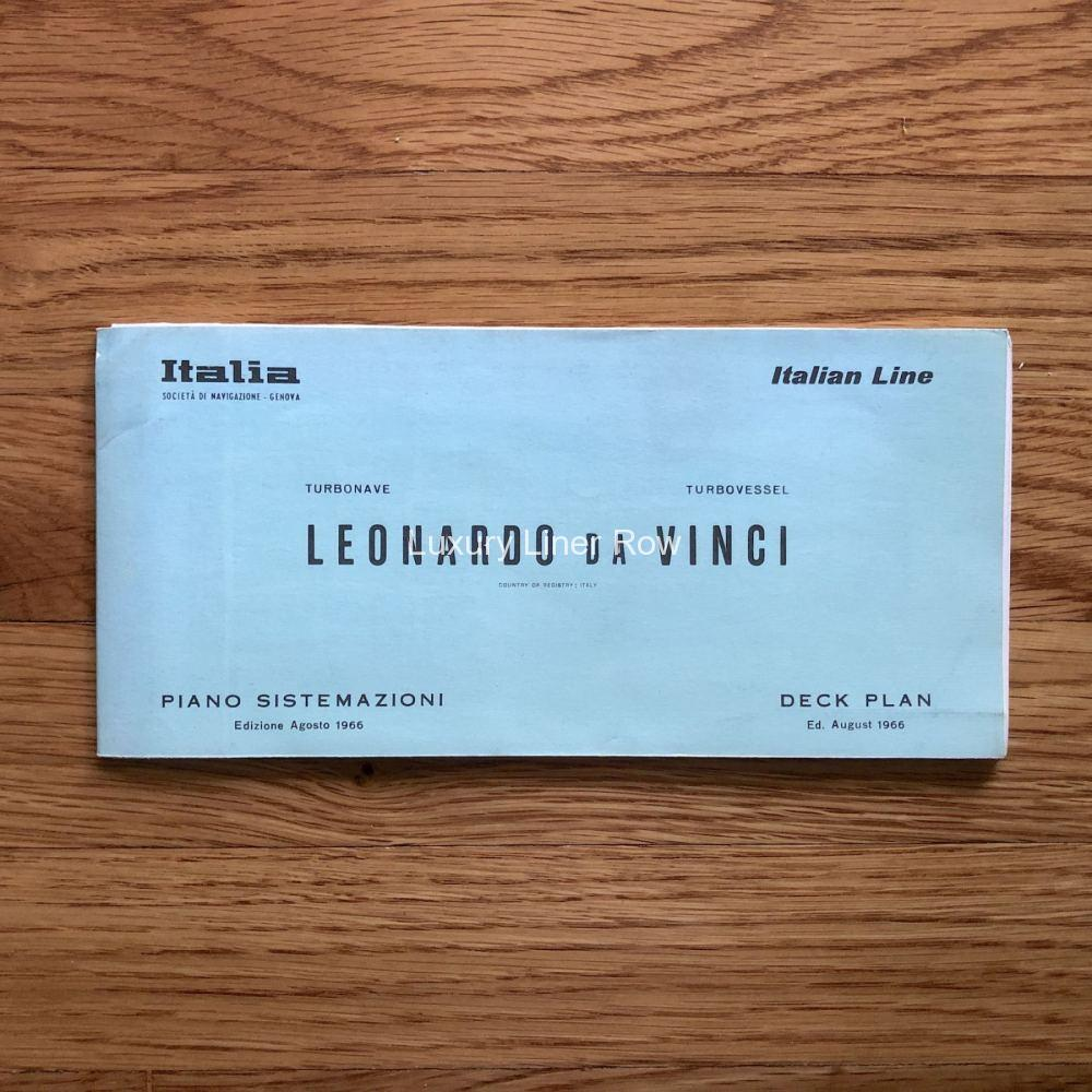 Leonardo Da Vinci Deck Plan